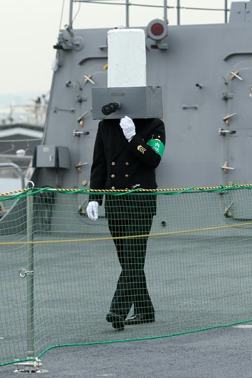 DDH-183 護衛艦いずも 一般公開 高性能20mm機関砲 ファランクス?