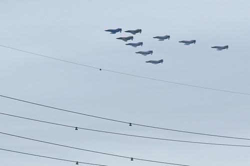 ファントムビッグフォーメイション 百里基地創設50周年記念航空祭