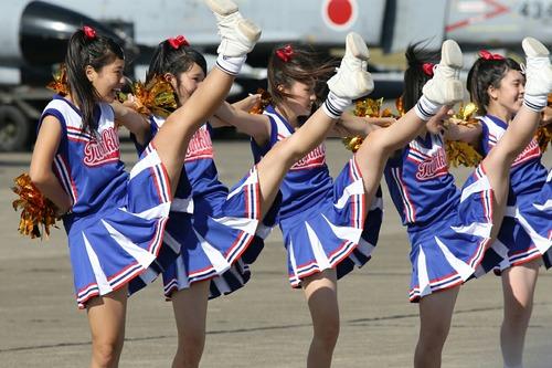 チアダンス 水戸商業高校 Blue Twinkle's 第30回 百里基地航空祭