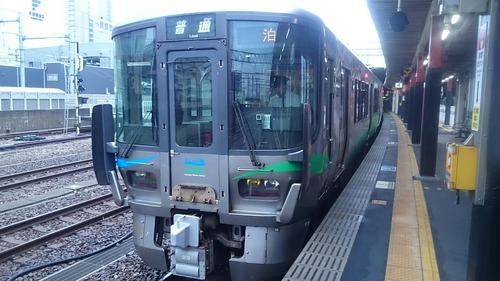 あいの風とやま鉄道 521系 IRいしかわ鉄道 金沢駅