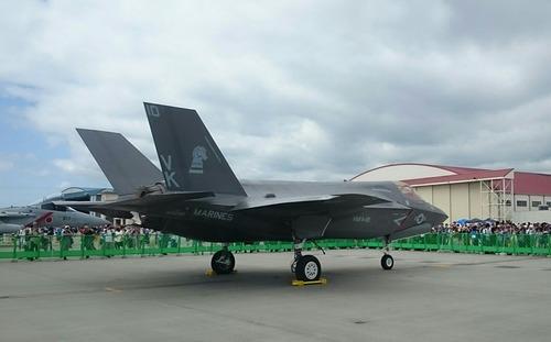 地上展示機 F-35 岩国基地 フレンドシップ・デー