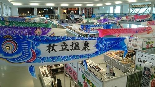 鯉のぼり 阿蘇くまもと空港