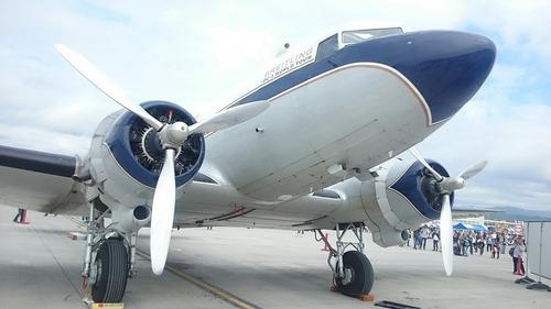 ブライトリング DC-3 HB-IRJ 岩国基地 フレンドシップ・デー