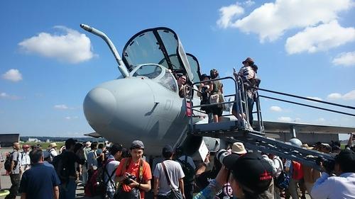 展示機 横田基地日米友好祭 EA-6