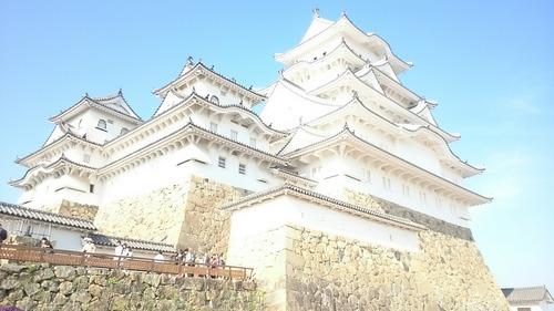 姫路城 露出オーバー