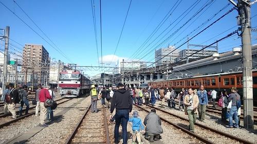 車両展示 高崎鉄道ふれあいデー 高崎駅南側留置線
