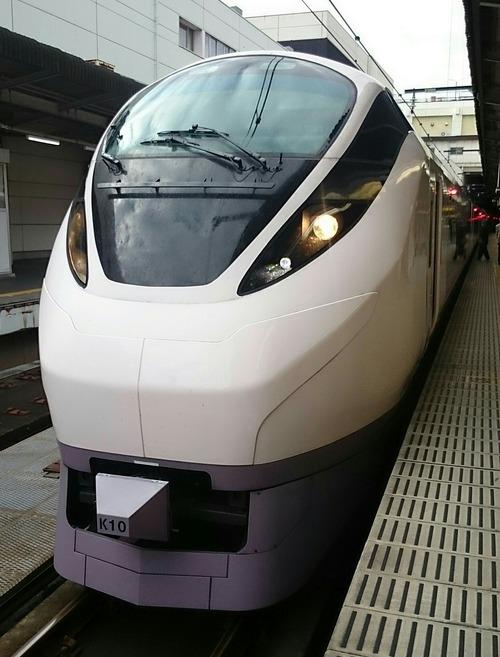 JR東日本 E657系電車 特急ひたち5号 上野駅