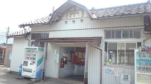 富山地方鉄道 越中三郷駅