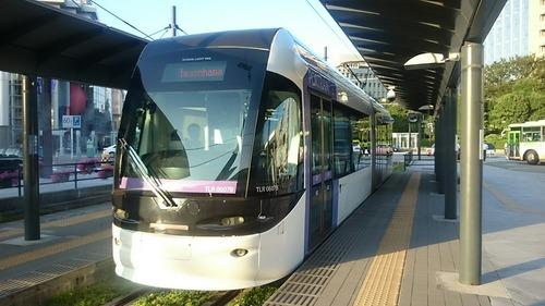 富山ライトレール TLR0600形電車 富山駅北