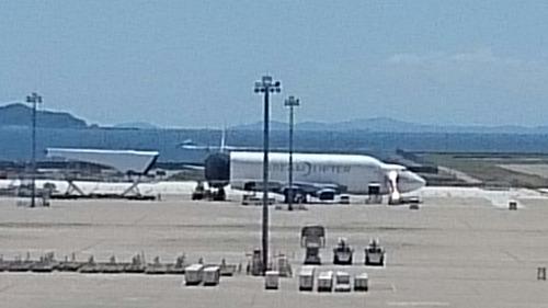 ボーイング747LCF ドリームリフター セントレア 中部国際空港