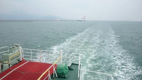 九商フェリー くまもと 熊本港~島原港