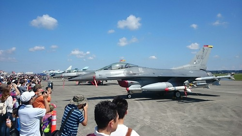 展示機 横田基地日米友好祭 F-16