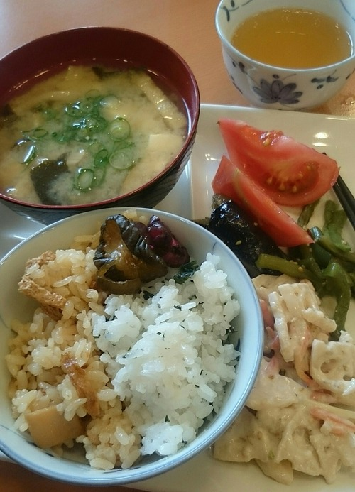 朝食 東横イン熊本駅前 2017.5.2