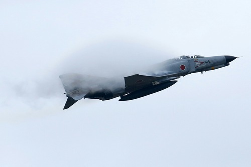 空対地射爆撃 F-4EJ ファントムⅡ 百里基地創設50周年記念航空祭