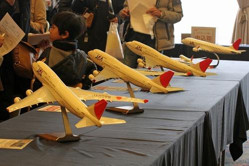 モデルプレーン JAL東北復興チャリティーバザー