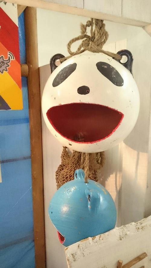 久慈 まちなか水族園 パンダ漁具