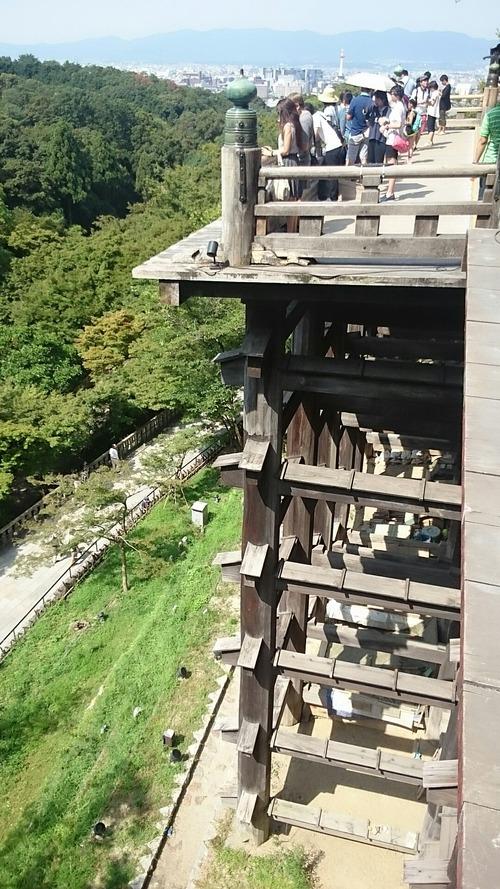 国宝 本堂舞台 清水寺