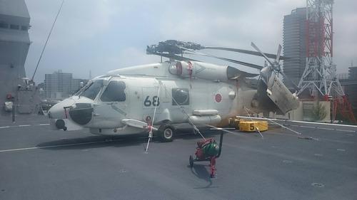 よこすかYYのりものフェスタ DDH-183 護衛艦いずも ヘリコプター