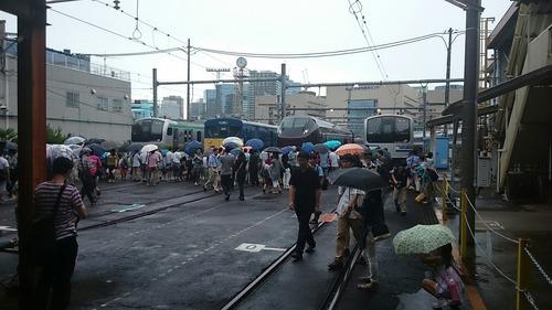 車両展示 JR東日本東京総合車両センター 夏休みフェア