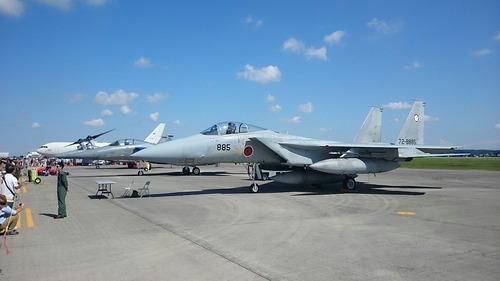 展示機 横田基地日米友好祭 F-15J