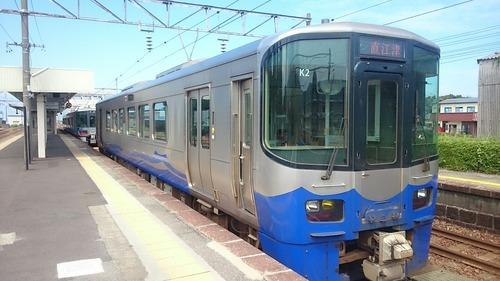 えちごトキめき鉄道 日本海ひすいライン ET122形気動車 泊駅