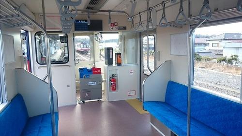 鹿島臨海鉄道 新型車両8000形 一般公開 大洗駅