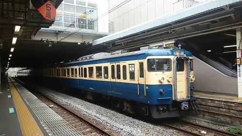 JR東日本 115系電車 横須賀色115系 YYフェスタ号 大船駅