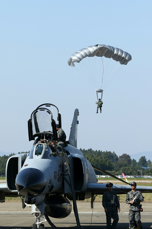 空挺降下 第30回 百里基地航空祭