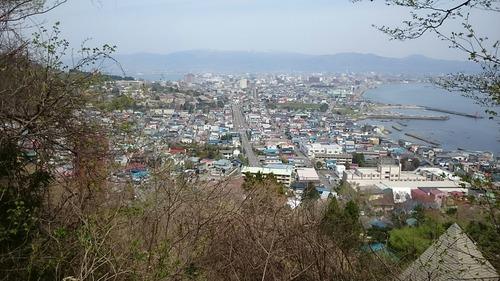 眺望 函館市内