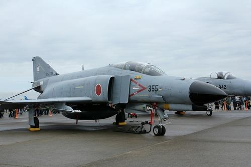 57-8355 F-4EJ ファントムⅡ 百里基地創設50周年記念航空祭