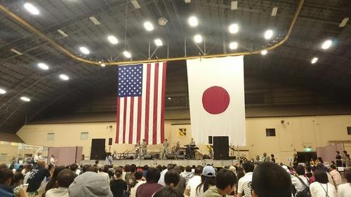 太平洋空軍バンド 横田基地日米友好祭
