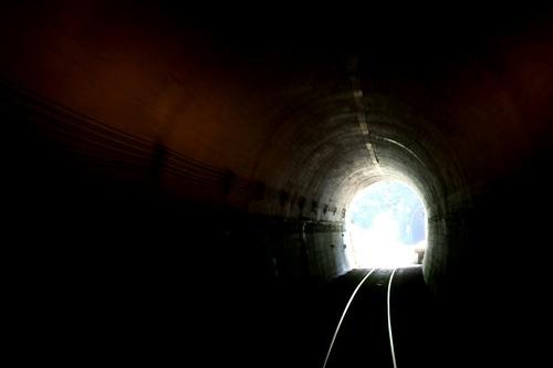 あまちゃん最終回ロケ地 三陸鉄道 第一白井トンネル