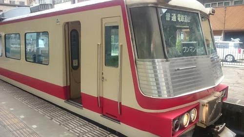 富山地方鉄道 16010形電車 宇奈月温泉駅