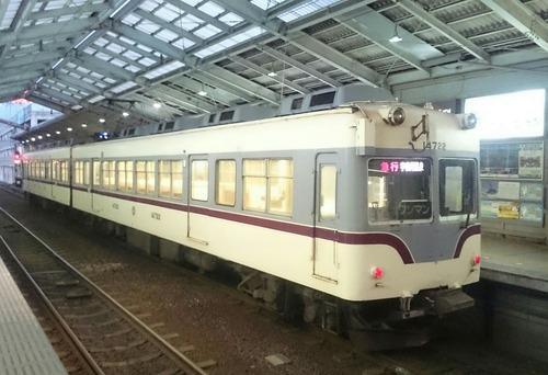 富山地方鉄道 14760形電車 電鉄富山駅