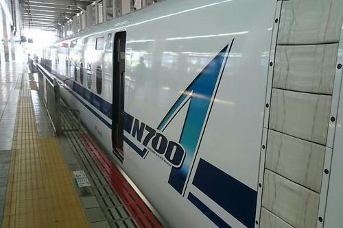 新幹線 N700A のぞみ160号 博多駅