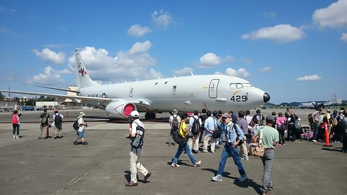 展示機 横田基地日米友好祭 P-8