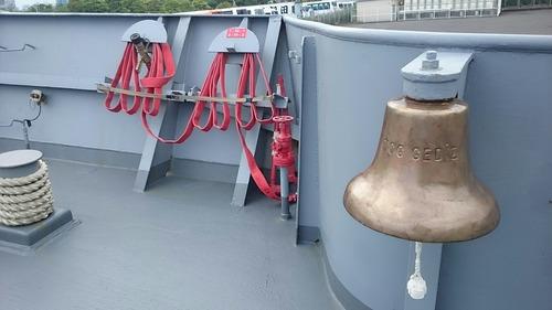 トルコ海軍 F495 フリゲート艦 TCGゲディス  一般公開 晴海埠頭