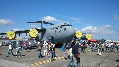 展示機 横田基地日米友好祭 C-17