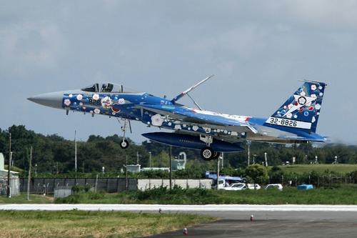 百里基地 F-15J イーグル 航空自衛隊 創設六十周年記念塗装機