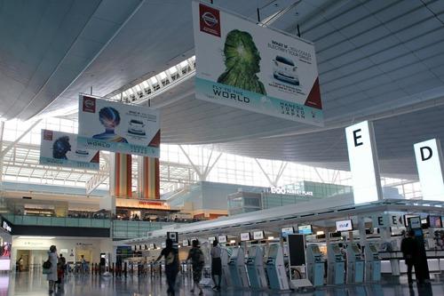 羽田空港 国際線ターミナル出発ロビー