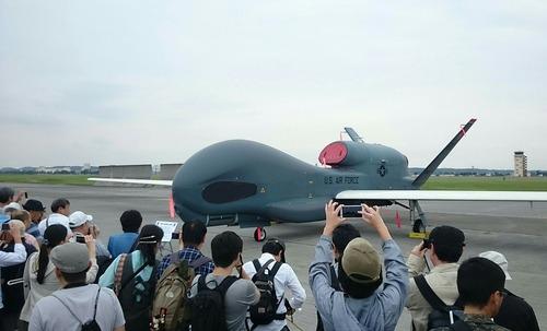 展示機 横田基地日米友好祭 RQ-4 Global Hawk