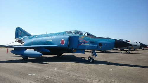 RF-4E ファントムⅡ 第30回 百里基地航空祭 地上展示機