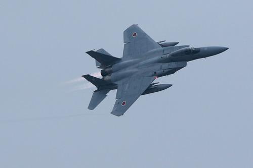 帰投 F-15J 百里基地創設50周年記念航空祭