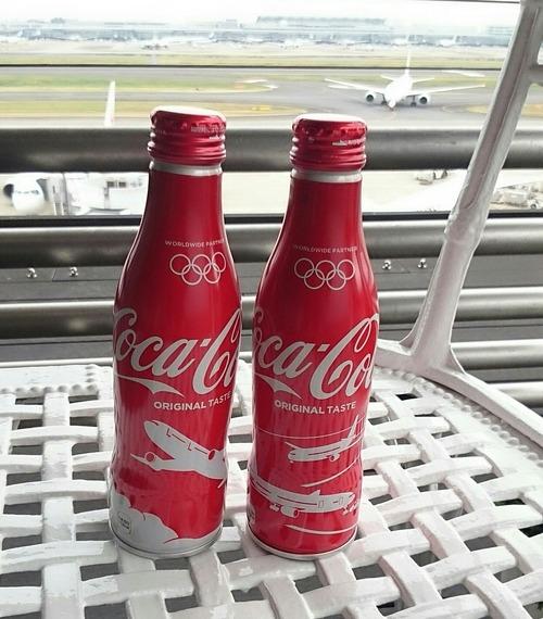 コカ・コーラ 東京2020オリンピック JAL 限定モデル缶