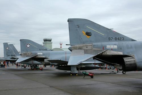 地上展示機 百里基地創設50周年記念航空祭