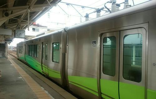 あいの風とやま鉄道 521系 魚津駅