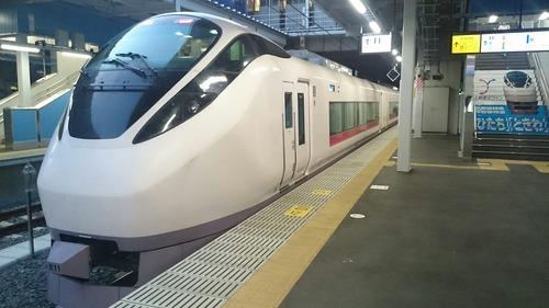 JR東日本 E657系電車 特急ひたち22号 品川駅