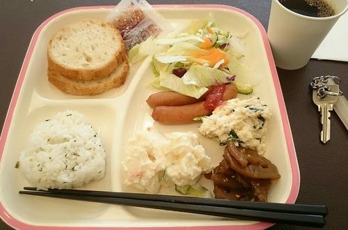 朝食 東横イン佐賀駅前 2017.5.4