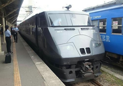 JR九州 787系電車 特急かもめ95号 長崎駅