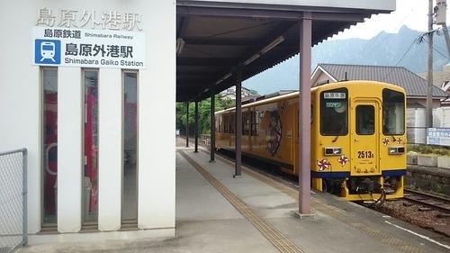 島原鉄道 キハ2500A形気動車 島原外港駅